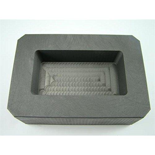 Make Your Own Gold Bars 25 oz Mold 25 oz Gold 15 oz Silver High Density Graphite Mold Bar Loaf Scrap Rectangle