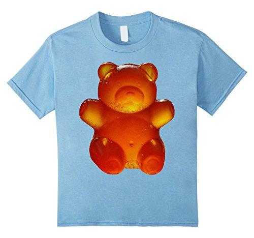Kids Halloween Bear Candy Costume T-Shirt 8 Baby (Gummy Bear Costume For Babies)