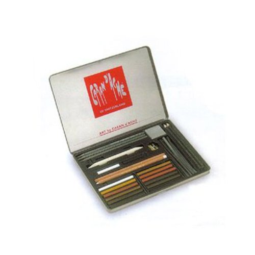 Caran D'ache 28 Piece Art Sketching Set by Caran d'Ache
