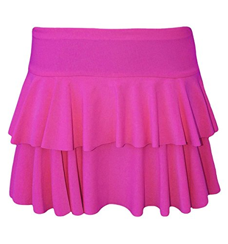 Mini Womens jupe Pink couches Islander Ladies Hot volants XL RaRa S Dguisement Dance Wear 2 Party Fashions jupe 4qOOnPTF