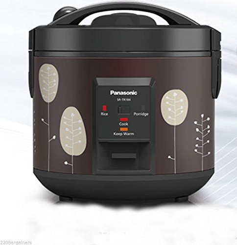 Panasonic Rice Cooker NEW SR-TR184 – 1.8L 220-230 Volts for Europe Asia Africa ( WILL NOT WORK IN USA )