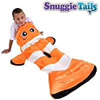 Snuggie Tails Clown Fish- Tails Comfy Cozy Super Soft...