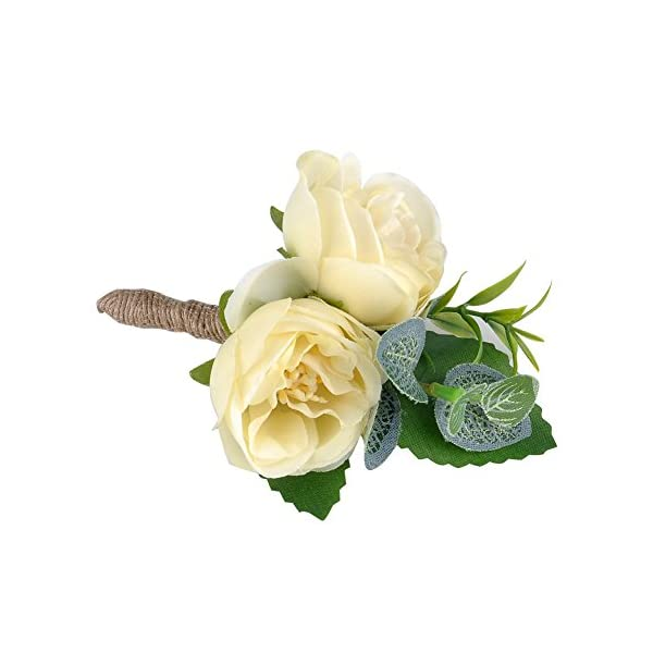 YSUCAU-Handcrafted-Boutonniere-for-Men-Wedding-Brooch-Bouquet-Corsage-Classic-Artificial-Groom-Bride-Flowers-with-Pin-for-Wedding-Prom-Party-6-Pcs