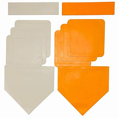 Coast Athletic Throw Down Baseball Bases | Available in White and OrangeÊ
