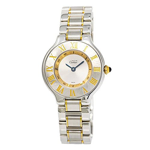 Cartier Must 21 automatic-self-wind womens Watch 1340 (Certified Pre-owned) by Cartier
