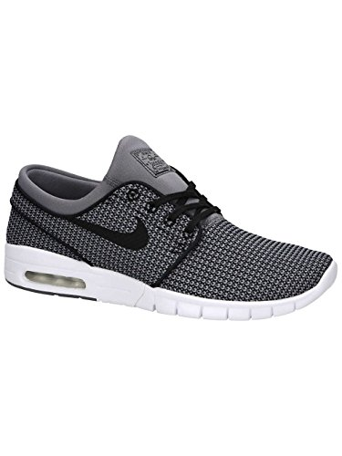 Stefan Max Nike Smoke Black SB White Gun Men's Janoski Shoes UOwFxAqf