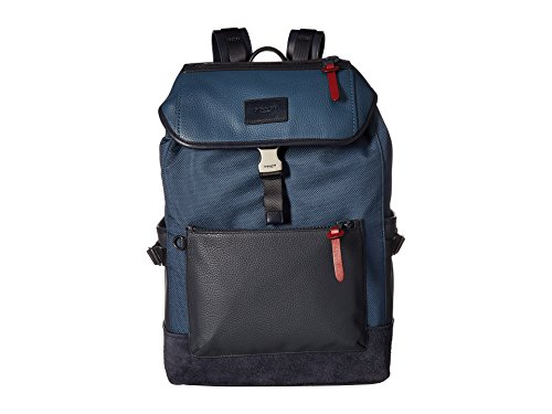 COACH Men's Manhattan Backpack in Varsity Sport Qb/Denim/Midnight Navy One Size