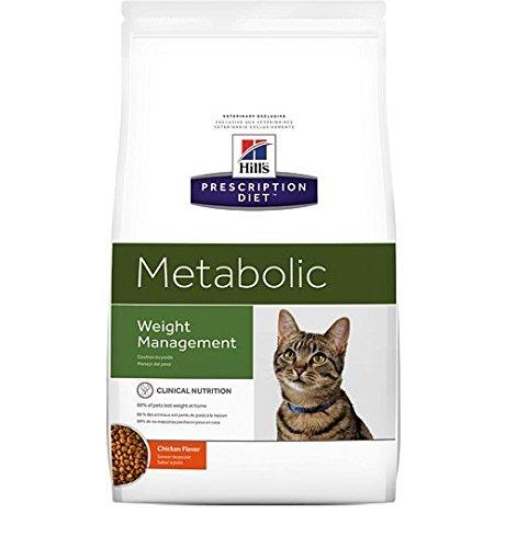 Hills Prescription Diet - Alimento para Gatos para Control de Peso. Croquetas de Pollo. 8 kg: Amazon.es: Productos para mascotas