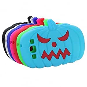 3D Halloween Pumpkin Soft Silicone Case For Samsung Galaxy S3 I9300 --- Color:Sky Blue