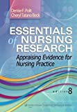 Essentials of Nursing Research (with thePoint access) : Appraising Evidence for Nursing Practice, 8/e, Polit Beck, 8184739117