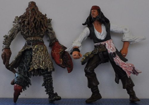 Davy Jones & Jack Sparrow - Disney Action