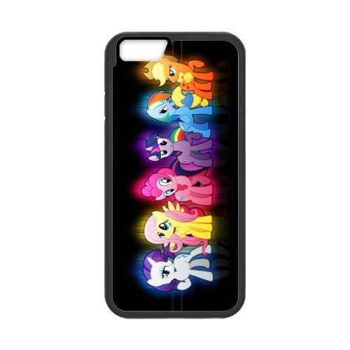 """Fayruz - iPhone 6 Rubber Cases, My Little Pony Hard Phone Cover for iPhone 6 4.7"""" F-i5G64"""