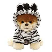 "Gund World's Cutest Dog Boo Outfit Plush Stuffed Animal 9"" , Multicolor"