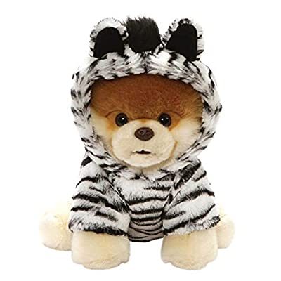 "Gund World's Cutest Dog Boo Outfit Plush Stuffed Animal 9"" , Multicolor"