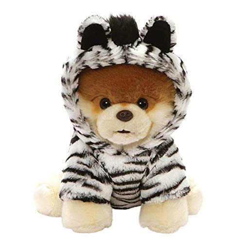 Dog 9 Inch Plush Stuffed Animal - GUND World's Cutest Dog Boo Zebra Outfit Plush Stuffed Animal 9