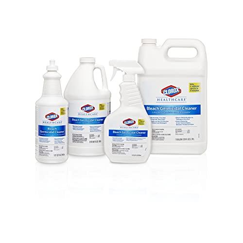 Clorox Healthcare Bleach Germicidal Cleaner Spray, 22 Ounces (68967)