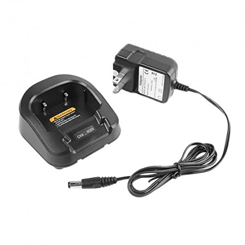 (Baofeng Original Desktop Charger for Baofeng Radio UV-82/ UV-82L - Black)