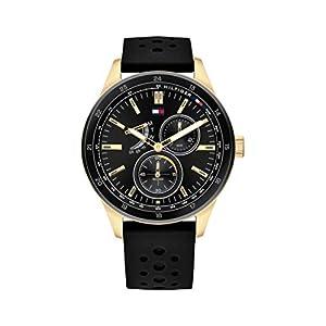 Tommy Hilfiger Reloj Analógico para Hombre de Cuarzo con Correa en Silicona 1791636 12
