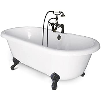 american bath slipper tub. american bath factory cc-dc-c-ob chelsea collection double ended tub slipper n