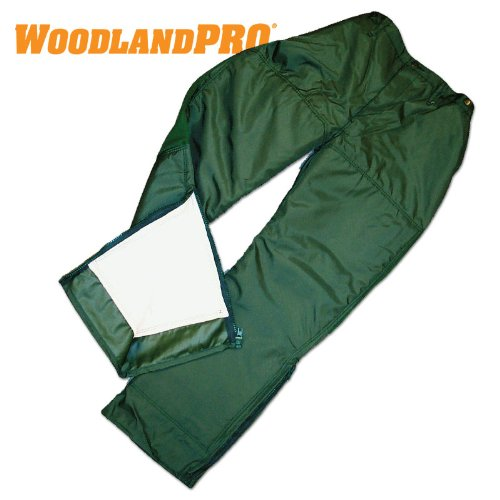 WoodlandPro Green Logger Chainsaw Safety Pants