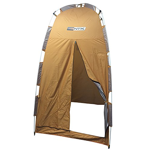 NTK PAMPA 3.7x3.7 Cabana Portable Privacy/Changing Shelter Orange/Silver