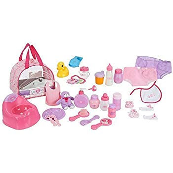 Click N Play 8 Piece Baby Doll Feeding Set with Accessories.