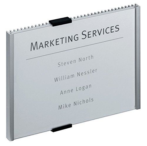 Price comparison product image DURABLE Info Sign, 8-3/8 x 6-1/8 Inches, Aluminum (480523)