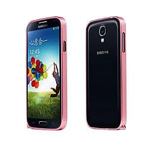 Bkjhkjy Bumper Metal Frame for Samsung S4/I9500 (Assorted Colors) , Red