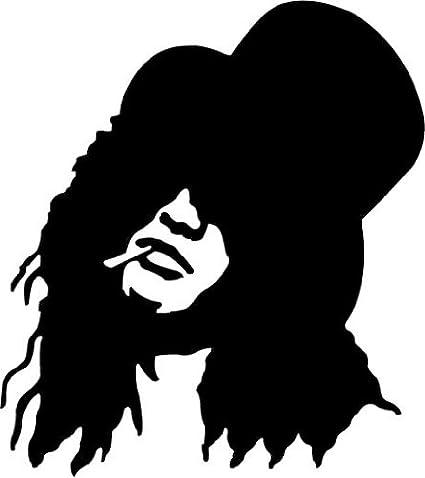 Guns N Roses Slash Music Alta Calidad De Coche De Parachoques Etiqueta Engomada 12 x 12 cm: Amazon.es: Hogar