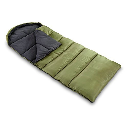 Guide Gear Fleece Lined Sleeping Bag, -15°F by Guide Gear