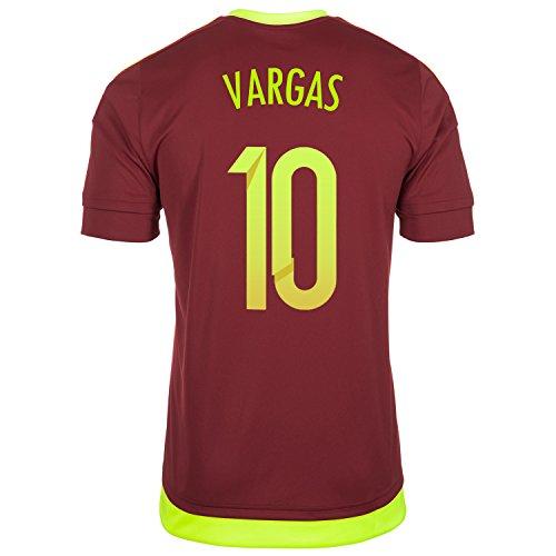 Vargas #10 Venezuela Home Jersey Copa America Centenario 2016