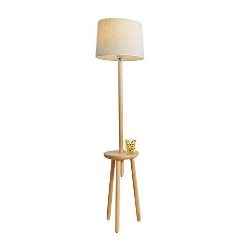 Cxjff Lámpara de pie, lámpara de Mesa Moderna de Estilo ...