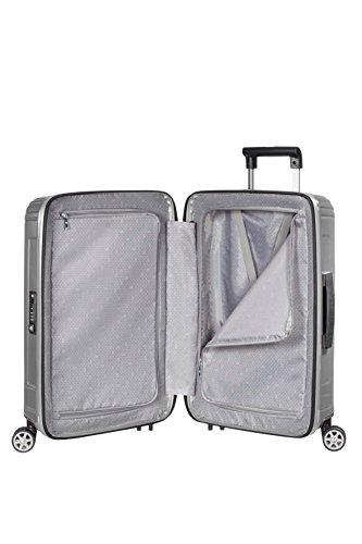 Samsonite neopulse suitcase 4 wheel spinner 55cm cabin for Samsonite cabin luggage