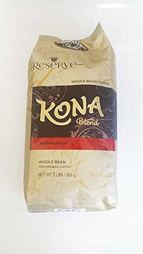 Hawaiian Gold Kona Coffee Gourmet Blend -2 Lb Bag
