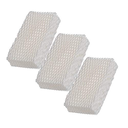SaferCCTV Replacement Humidifier Wick Filters for ReliOn WF813 Duracraft HC832, DH-830 / DH830 Series Cool Moisture Humidifier, Pack of 3