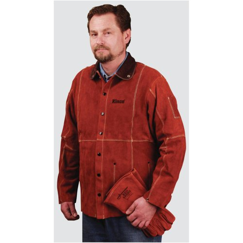 Grizzly H9887 Leather Welding Jacket - Large