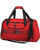 Puma Unisex Axium Duffel, Red, OS