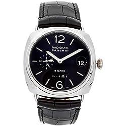 Panerai Radiomir Mechanical (Hand-Winding) Black Dial Mens Watch PAM 200 (Certified Pre-Owned)