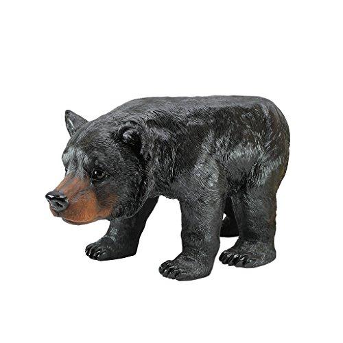 Design Toscano Black Bear Sculptural Stool (Stool Bear)