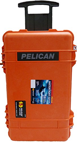 Tan /& Red Pelican 1510 case no Foam//Empty.