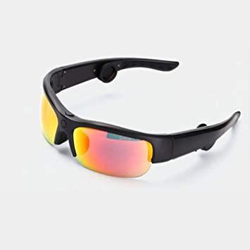 LZBBJ Gafas de Sol inalámbricas de conducción ósea Bluetooth ...