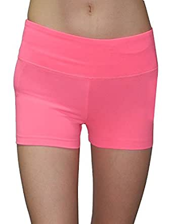 Balance Collection (By Marika) Womens Athletic Training & Yoga Shorts L Pink