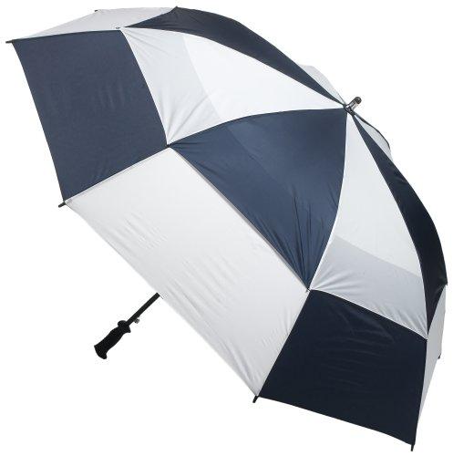 ad7ae7605a84 Totes Vented Canopy Auto-Open Golf Stick Umbrella, Black