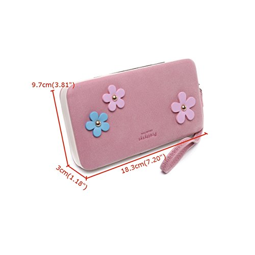 Charminer Multi-purpose Long Style Leather Wallet Cellphone Case