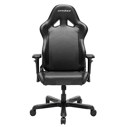DXRacer Tank Series DOH/TS29/N Big and Tall Chair Racing Bucket Seat Office Chair Gaming Chair Ergonomic Computer Chair Esports Desk Chair Executive Chair Furniture with Pillows (Black)