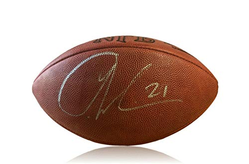 LADAINIAN TOMLINSON SIGNED AUTHENTIC NFL FOOTBALL JSA COA CHARGERS - Signed Tomlinson Football Ladainian