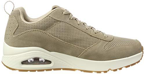 Uno Beige Uomo Sneaker taupe Tpe Skechers w4Bg0nqx