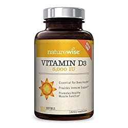 Image of the product NatureWise Vitamin D3 that is listed on the catalogue brand of NatureWise.