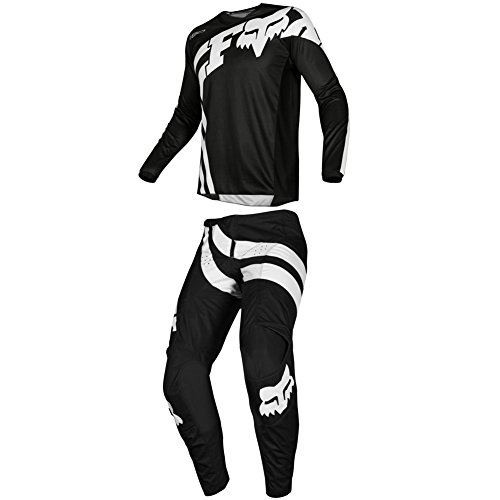 Fox Racing 2019 180 COTA Jersey and Pants Combo Offroad Gear Set Adult Mens Black XXXL Jersey/Pants 42W ()