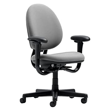 amazoncom steelcase criterion chair grey fabric kitchen dining - Steelcase Office Chairs